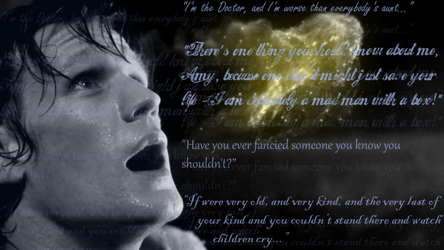Doctor Who Wallpaper David Tennant Quote Doctor Who 11th Doctor...