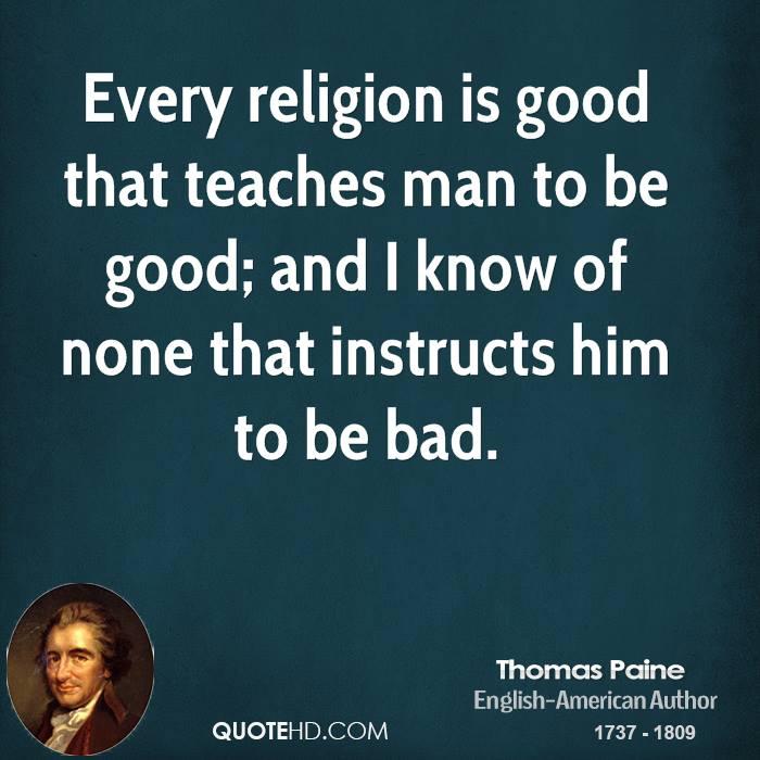 Thomas Paine Quotes: Thomas Paine Quotes On God. QuotesGram