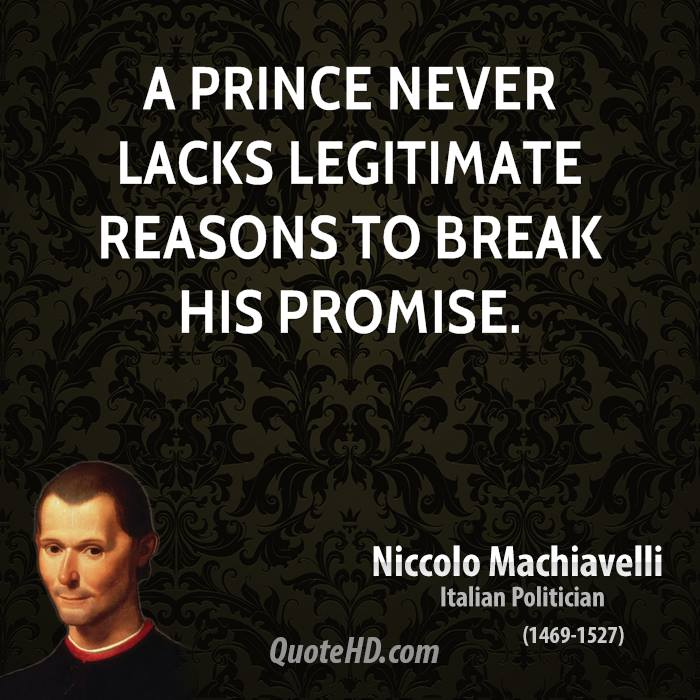 a literary analysis of the prince and his discourses by machiavelli