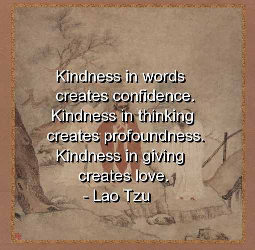 Inspirational Quotes About Positive: Quotes On Giving And Kindness. QuotesGram