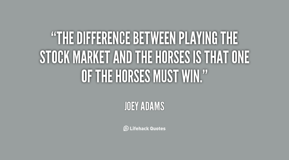 Difference between stock market and forex