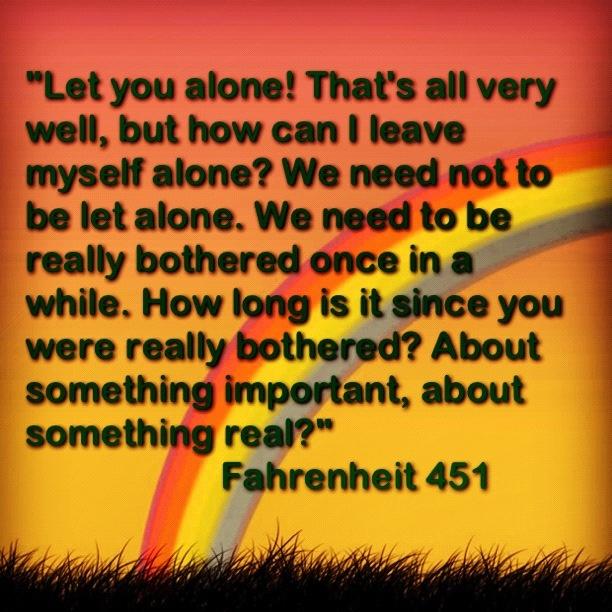 Guy Montag From Fahrenheit 451 Quotes. QuotesGram