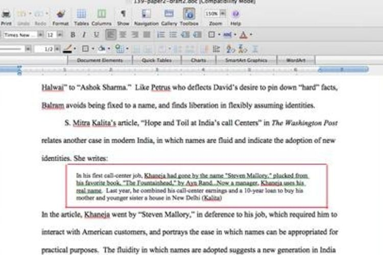 Custom research paper quotes