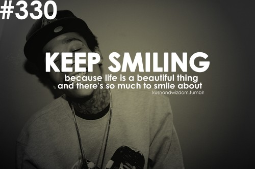 Quotes About Smiling Tumblr Beautiful Keep ...