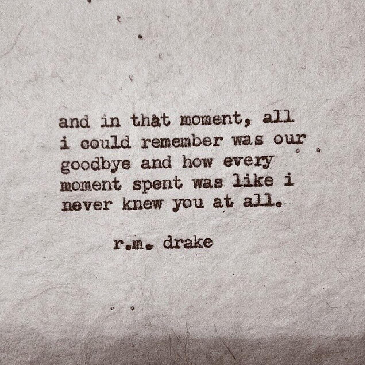 R M Drake Love Quotes. QuotesGram