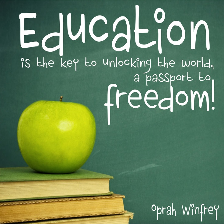 Oprah Winfrey Quotes On Education. QuotesGram