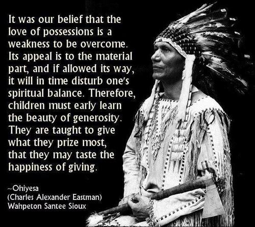 Teach Peace Quotes: Native American Spirituality Quotes. QuotesGram