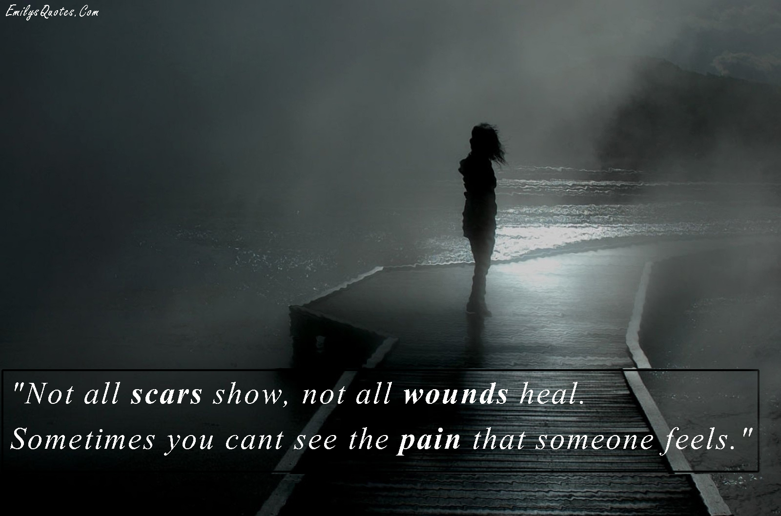 Feelings Heal Love Pain Quote Scars: Quotes About Scars And Healing. QuotesGram