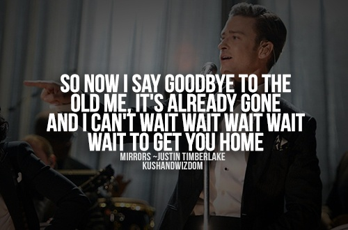 Justin timberlake mirror quotes quotesgram for Mirror justin timberlake lyrics