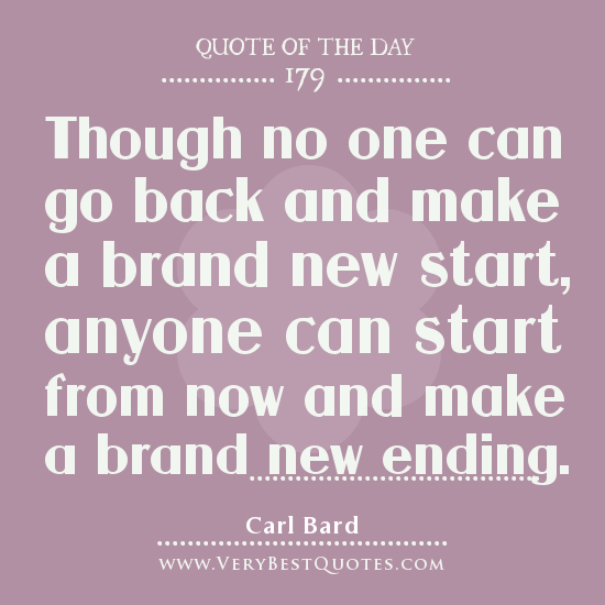 Quote Of The Day: Inspirational Quotes About New Day. QuotesGram