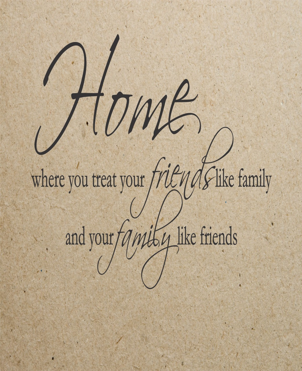 Friends Like Family Quotes. QuotesGram