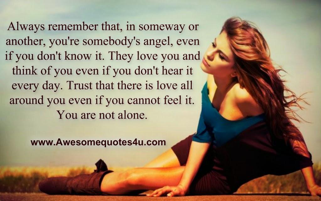 Not Alone Quotes. QuotesGram