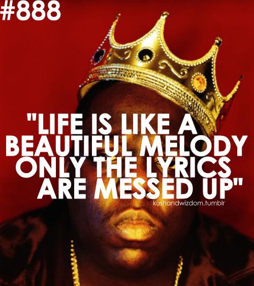 Biggie Smalls Inspirational Quotes Wallpaper. QuotesGram