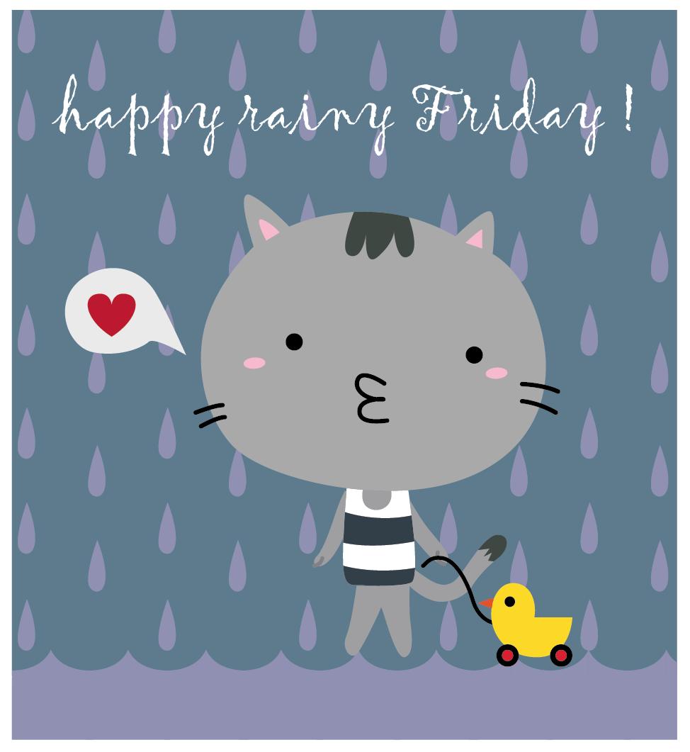 Happy Quotes About Rainy Days: Happy Rainy Friday Quotes. QuotesGram