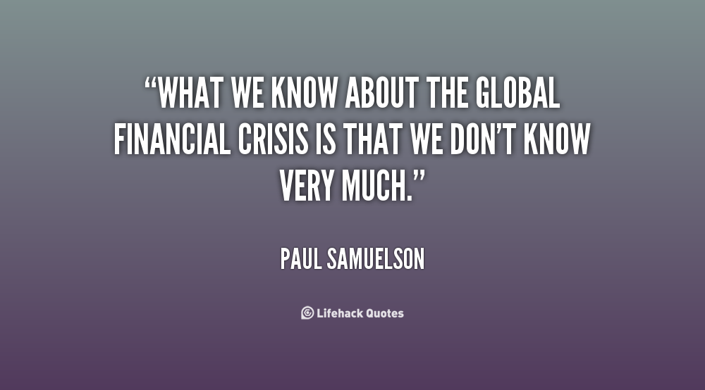 banking crisis and dating quotes
