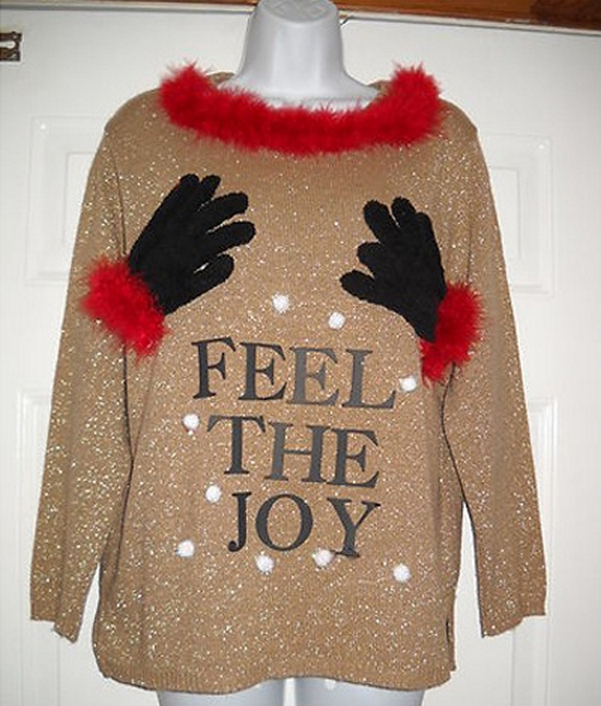 Ugly Christmas Sweater Ideas Homemade
