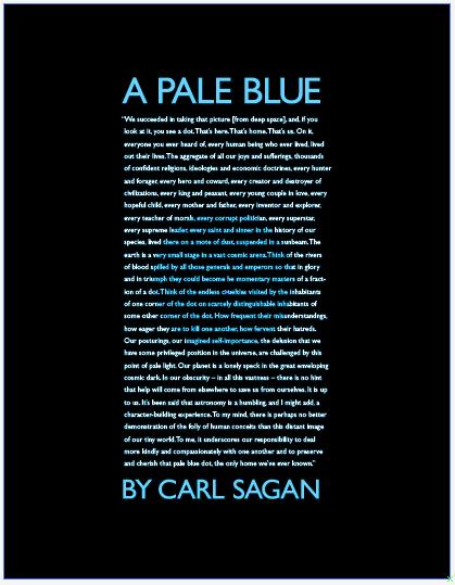 pale blue dot essay