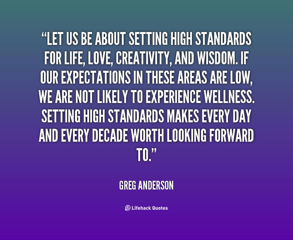 Setting Expectations Quotes. QuotesGram