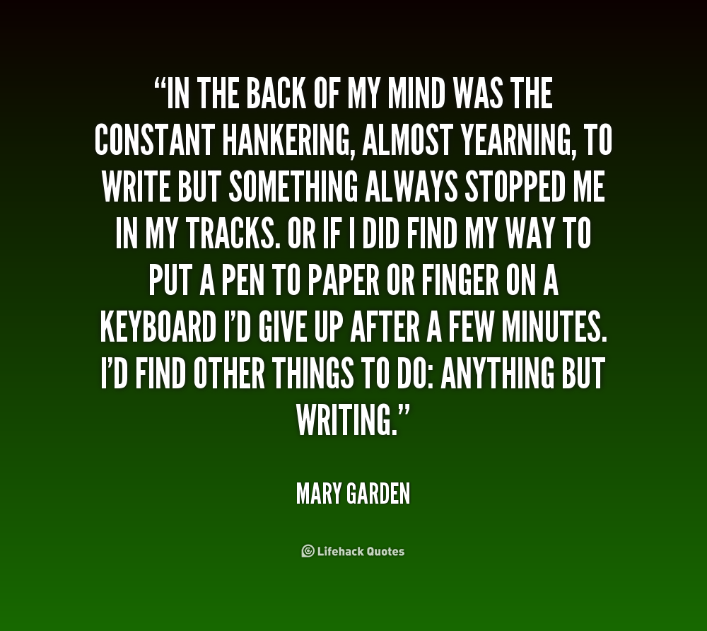 Birthday Quotes From The Quote Garden: Mind Is A Garden Quotes. QuotesGram