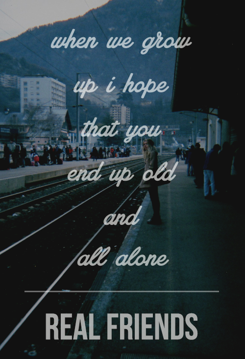 Real Friends Band Quotes. QuotesGram