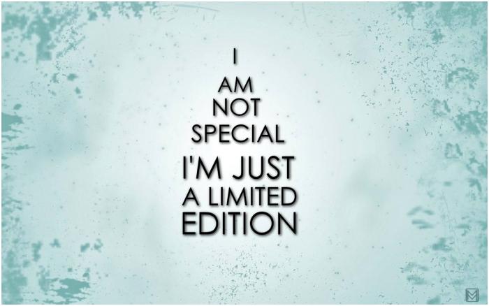 Im Not Special Quotes QuotesGram