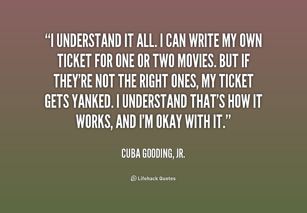I Understand Quotes. QuotesGram