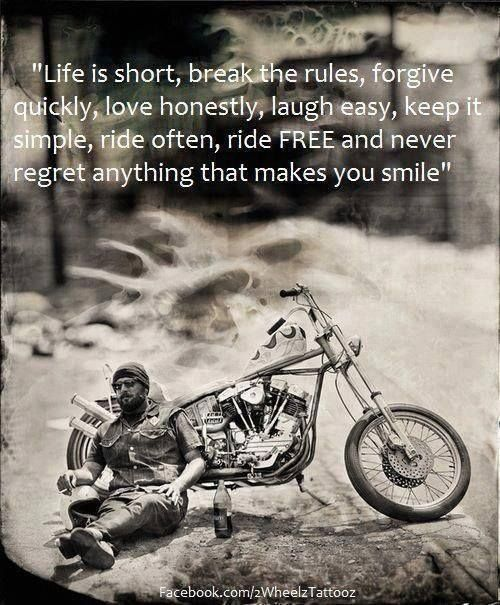 Ghost Rider Quotes About Life And Death: Women Motorcycle Riders Quotes. QuotesGram