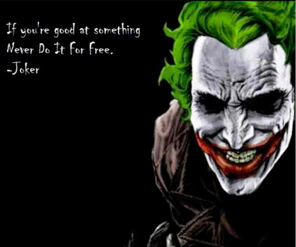 the joker movie quotes quotesgram