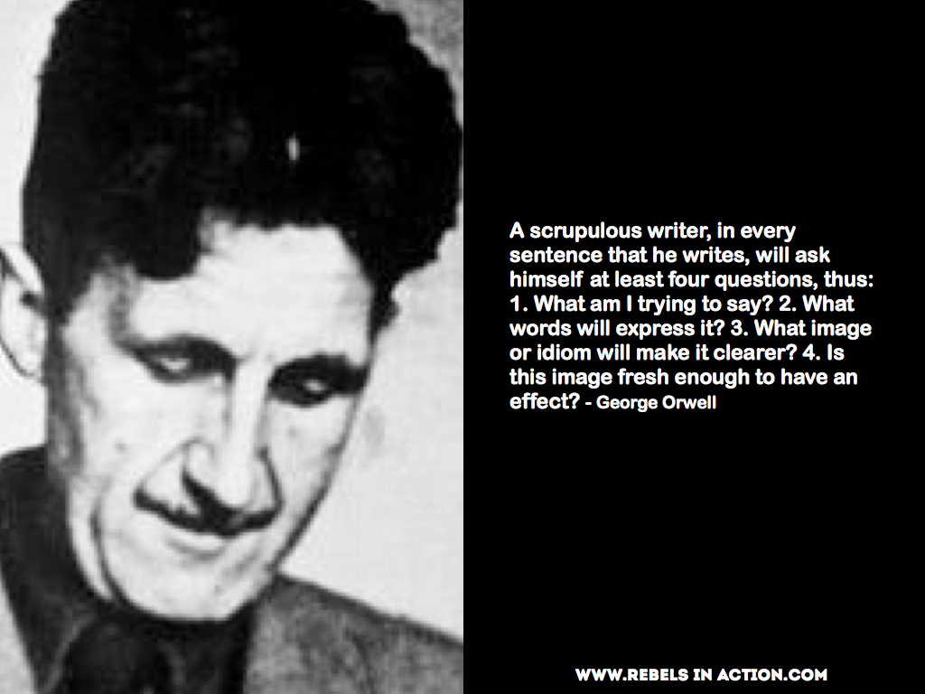 how does orwell criticise totalitarianism 1984: an alternative analysis of the classic warning of communist totalitarianism orwell's point is alternative analysis of the classic dystopian.