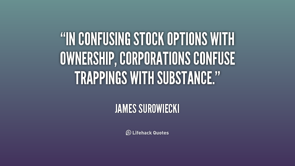 Stock option quote - Collection Of Inspiring Quotes, Sayings, Images