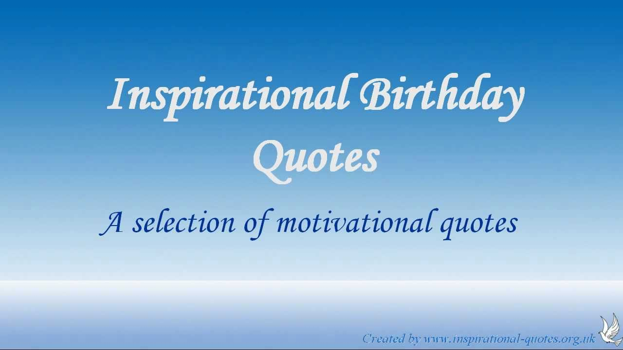 Inspirational Birthday Quotes For Women Quotesgram