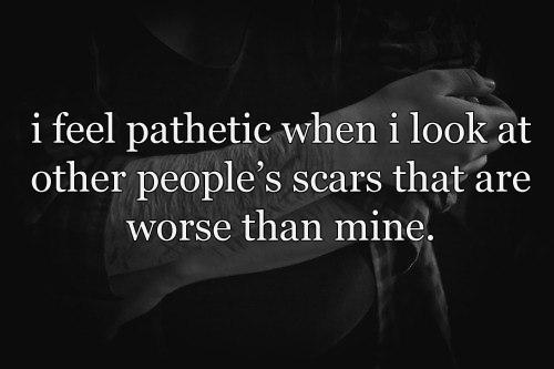 Sad Quotes About Scars. QuotesGram