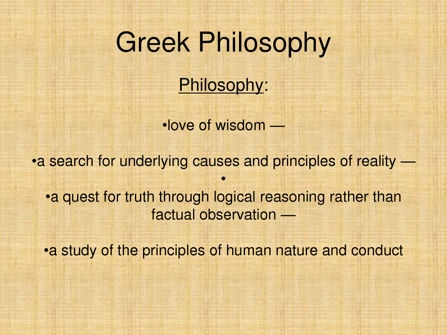 greek philosopher Explaining the foundation of ancient greek philosophy (dynamic unity of reality) with the metaphysics of space and the wave structure of matter all is one (space.