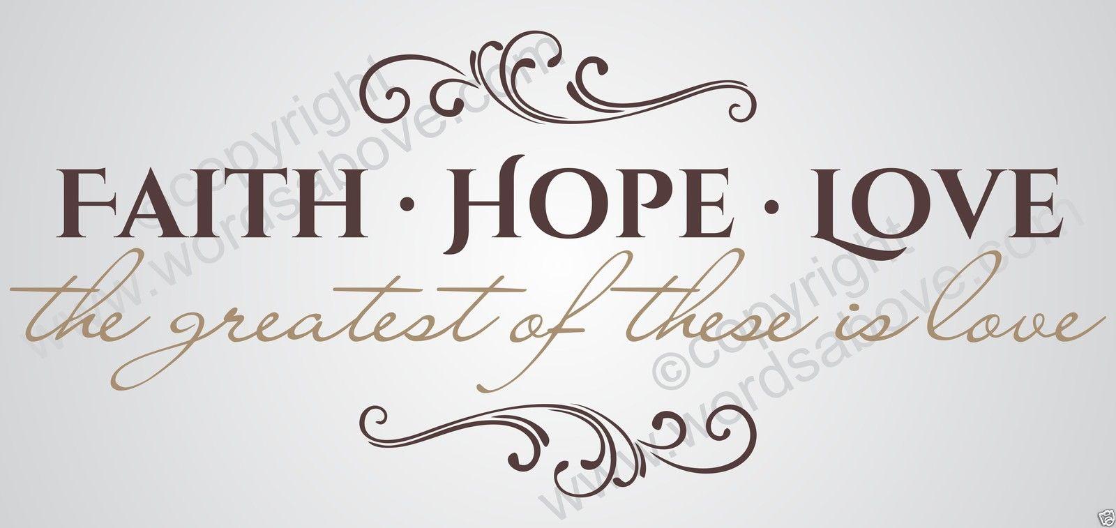 Corinthians Faith Hope Love Quotes. QuotesGram
