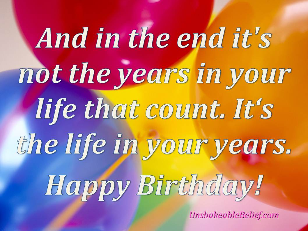 Inspirational Birthday Quotes. QuotesGram