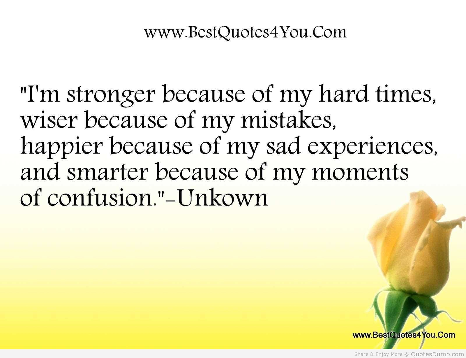 Uplifting Quotes For Hard Times. QuotesGram