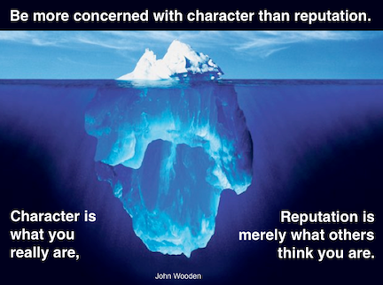 character vs reputation Defamation of character occurs when someone makes a false statement about you that causes you some type of harm the statement must be published (meaning some third party must have heard it), false, and it must result in harm, usually to the reputation.