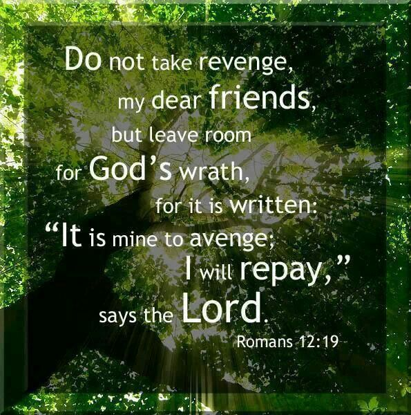 Bible Quotes Revenge: Wrath Of God Bible Quotes. QuotesGram