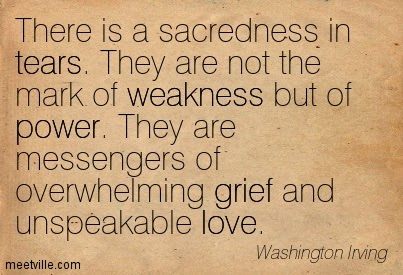 Tears Cleanse The Soul Quotes. QuotesGram
