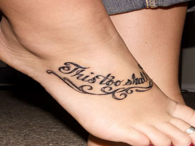 Foot Tattoo Ideas Quotes: Beautiful Quotes Are The Feet. QuotesGram
