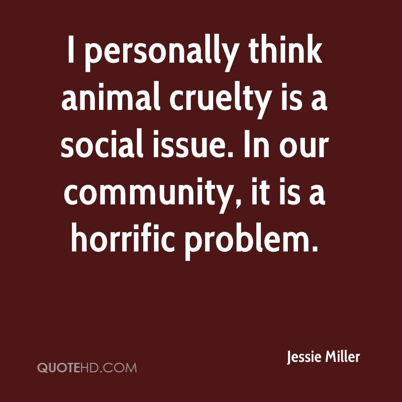the issue of animal cruelty 11 facts about animal cruelty welcome to dosomethingorg , a global movement of 6 million young people making positive change, online and off the 11 facts you want are below, and the sources for the facts are at the very bottom of the page.