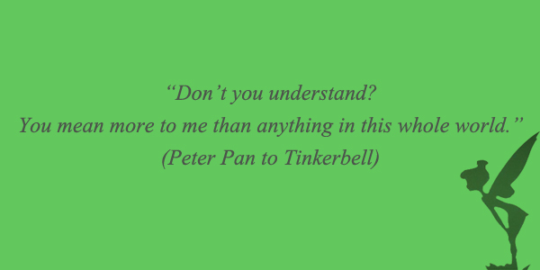 Peter Pan Quotes About Love. QuotesGram