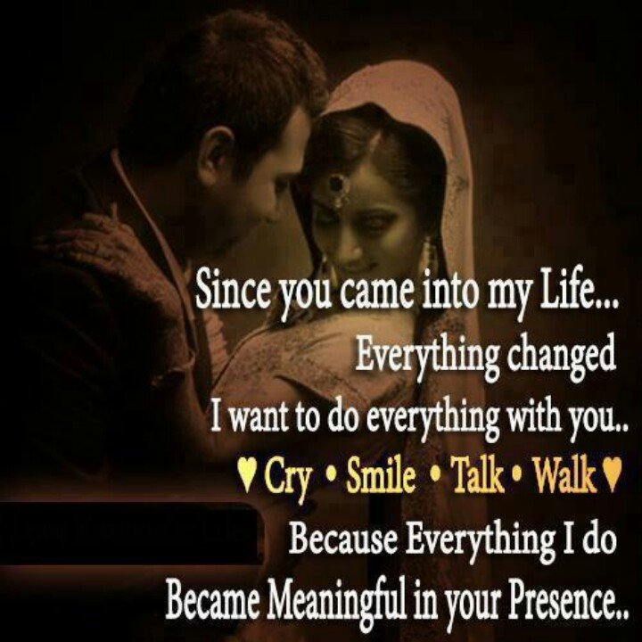 Quotes About Love: You Came Into My Life Quotes. QuotesGram