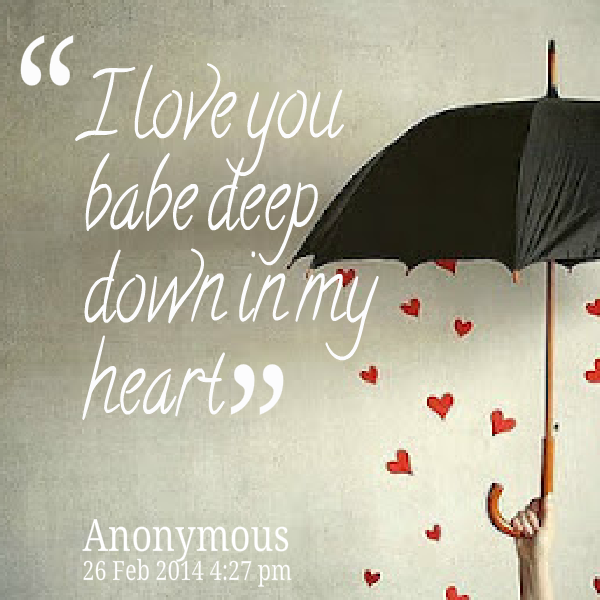 babe i love u quotes - photo #21