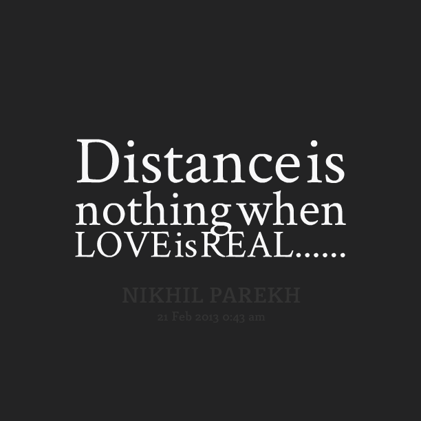 Distance Quote Loving You: Quotes From A Distance Loving. QuotesGram