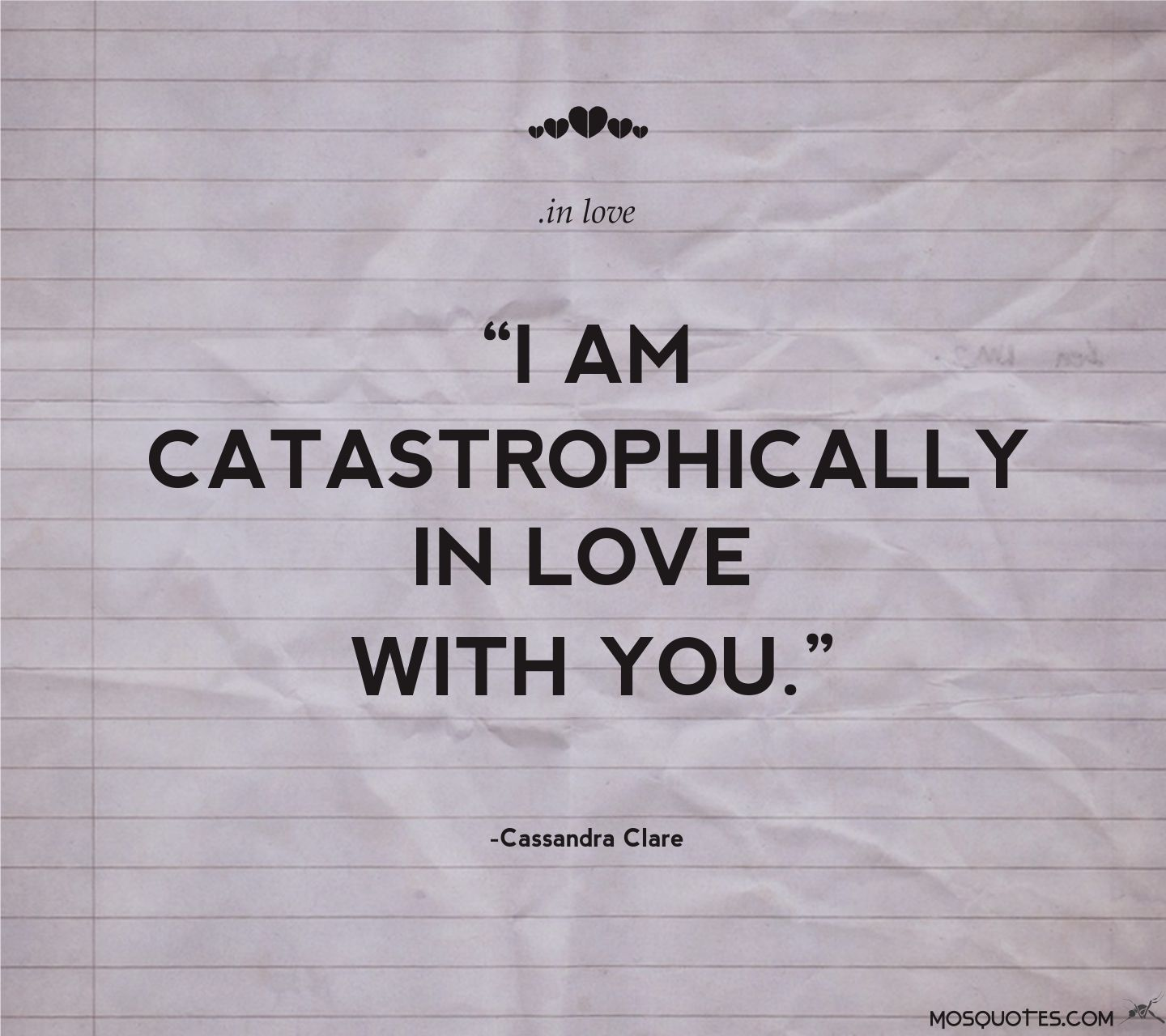 In Love Quotes: Cassandra Clare Quotes About Love. QuotesGram
