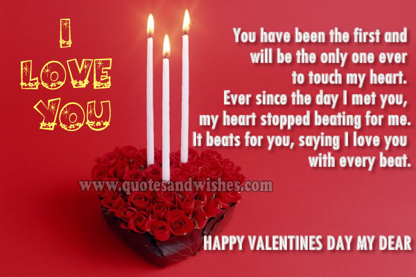 Happy Valentines Day To My Husband Quotes. QuotesGram