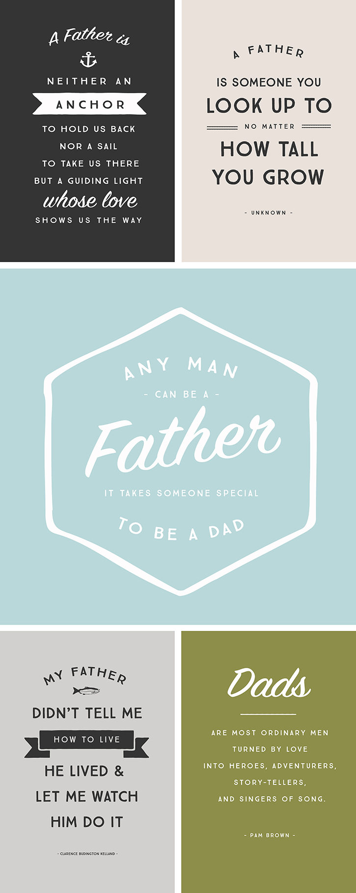 Black Fathers Day Quot...