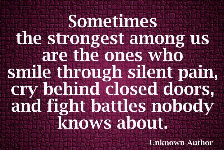 Saying Quotes About Sadness: Fight Through The Pain Quotes. QuotesGram