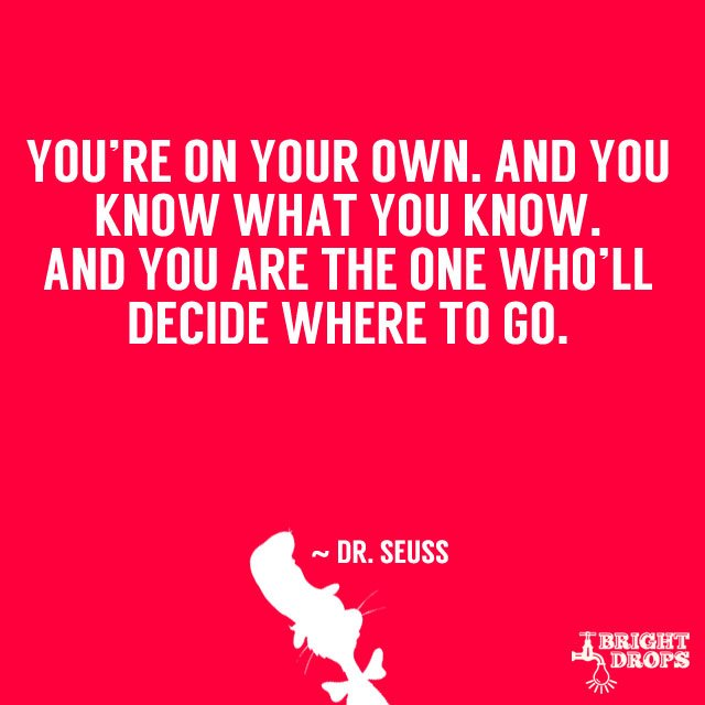 Dr Seuss Quote: Dr Seuss Quotes On The World. QuotesGram